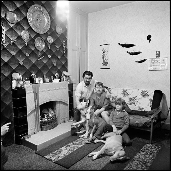 Residents of June Street, Salford, 1973.