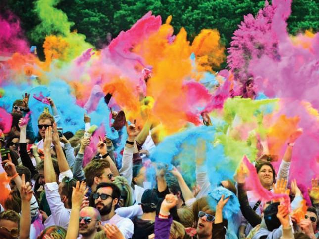 Festival of Colour - HOLI ONE