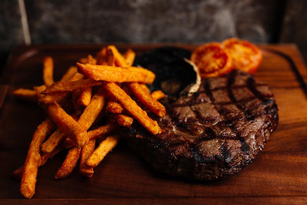 Josper grill steak